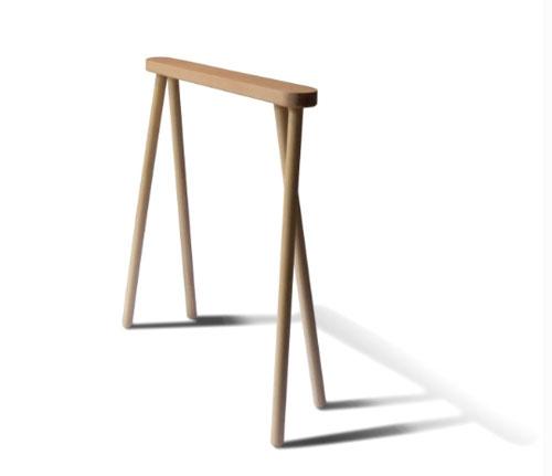 Bock Trestle Table. A Horizontally ...