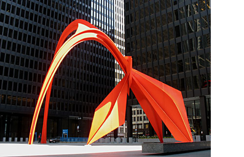 Monumental Art By Alexander Calder Daily Icon