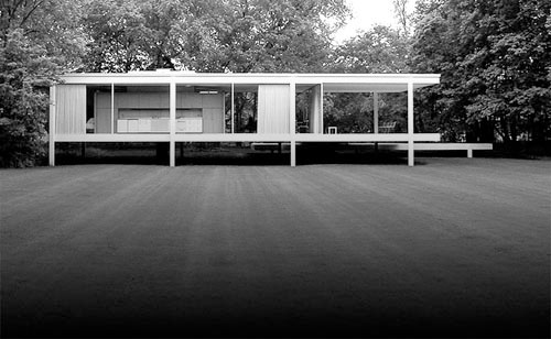 icon farnsworth house daily icon. Black Bedroom Furniture Sets. Home Design Ideas