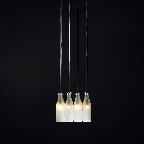 Droog milk bottle daily icon milk bottle chandelier aloadofball Gallery