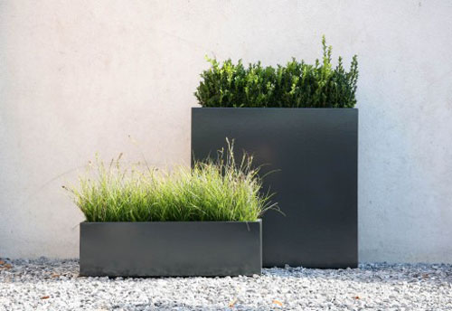 Define your garden with a flowerbox from conmoto daily icon - Amenagement jardin moderne ...