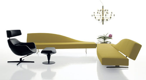 Aspen, A Sofa With A Twist By Jean Marie Massaud