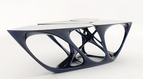 Mesa Vitra Edition Table By Zaha Hadid