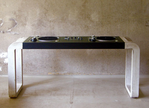 Dj tables by metrofarm daily icon for Mobilier stand