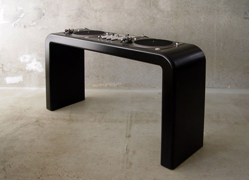 dj tables by metrofarm daily icon. Black Bedroom Furniture Sets. Home Design Ideas