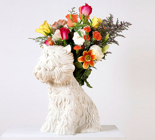 Jeff Koons Puppy Vase Available For 7 500 00 Daily Icon