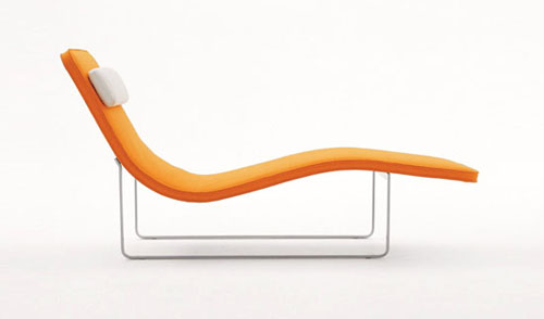 Landscape Chaise Lounge by Jeffrey Bernett