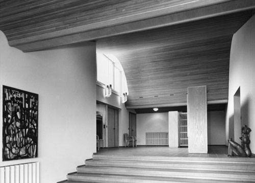 Icon maison carr by alvar aalto daily icon for Carre maison