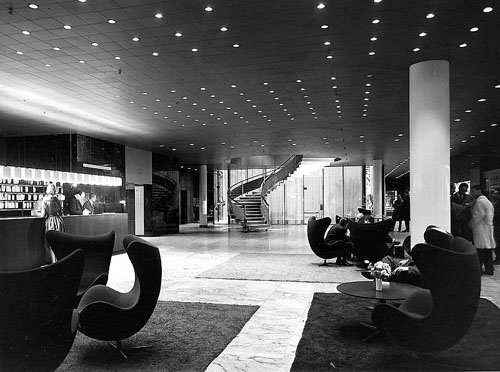 Icon Royal Suite 606 Designed By Arne Jacobsen Daily Icon