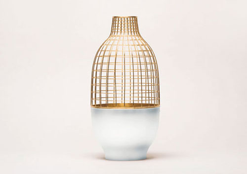 grid vase collection by jaime hayon