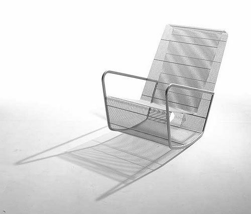 Wire Chair By Egg Designs
