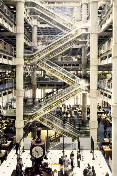 Icon Lloyds Building By Richard Rogers Daily Icon