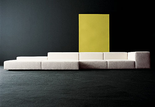 More Like Livingroom Sculpture Than A Standard Sofa. This System Is  Designed By Piero Lissoni, For Every Expanding Spaces Allows For Surprising  Variations.