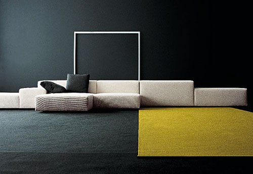 Superieur Extra Wall Sofa System By Piero Lissoni