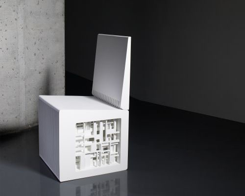 Deconstructivism Furniture Interior Design ~ Chair by peter eisenman daily icon