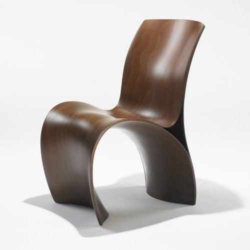 three skin chair by ron arad daily icon. Black Bedroom Furniture Sets. Home Design Ideas