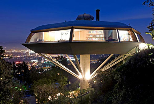 Icon John Lautner S Chemosphere House Daily Icon