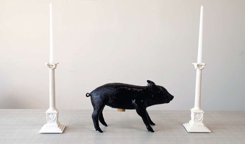 Bank in the Form of a Pig Harry Allen