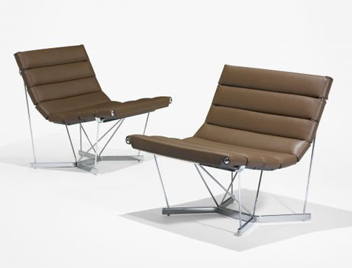 Beautiful George Nelson U0026 Associates Catenary Chairs For Herman Miller