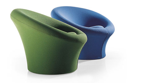 Icon Mushroom Chair By Pierre Paulin For Artifort Daily
