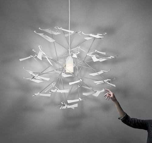 Wing Pendant Lamp by Monica Förster for Zero