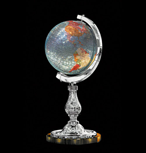 Globe by Studio Job for Swarovski Crystal Palace