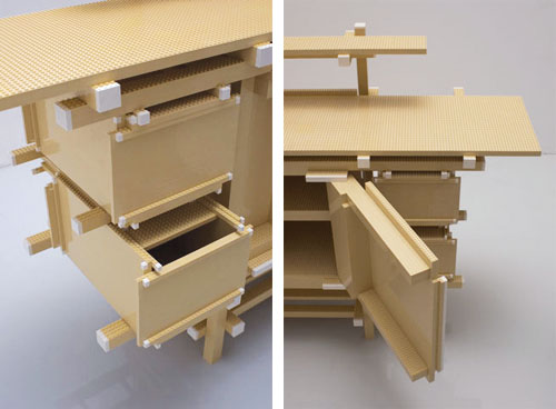 Rietveld LEGO Buffet by Minale-Maeda for Droog