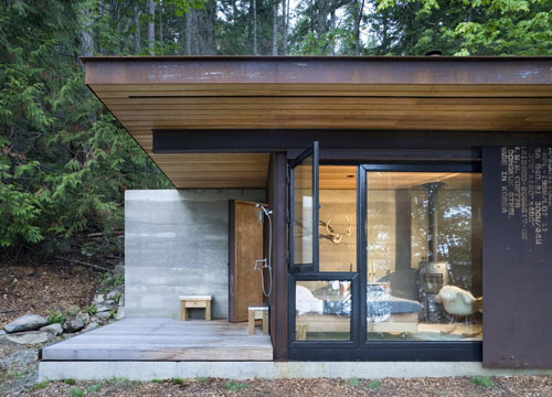 Salt Spring Island Cabin by Olson Kundig Architects | Daily Icon
