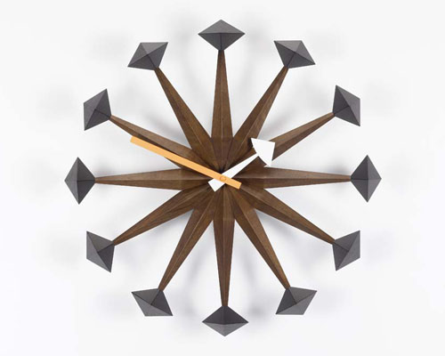 George Nelson Polygon Clock Vitra