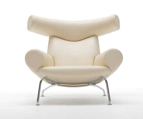 50th Anniversary Erik Jørgensen Oxchair by Hans J. Wegner natural