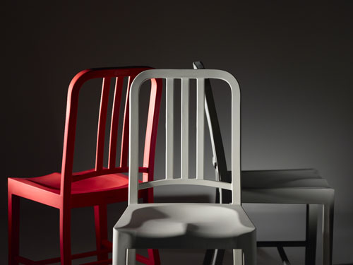 111 Navy Chair By Emeco With Coca Cola