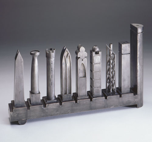 Richard Meier Menorah for The Jewish Museum