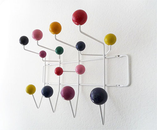 charles ray eames hang it all rack daily icon. Black Bedroom Furniture Sets. Home Design Ideas