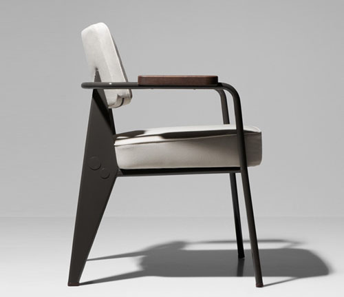 exhibition jean prouv by g star raw for vitra daily icon. Black Bedroom Furniture Sets. Home Design Ideas