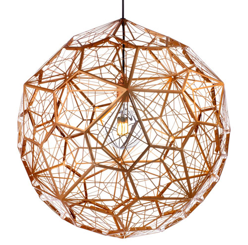 Etch web pendant light by tom dixon daily icon - Tom dixon etch web pendant ...
