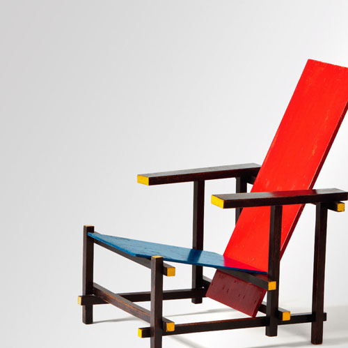 exhibition gerrit rietveld the revolution of space daily icon. Black Bedroom Furniture Sets. Home Design Ideas