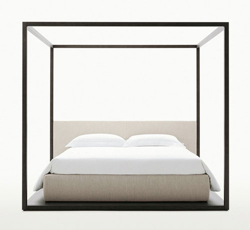 alcova canopy bed by maxalto - Canopy Bed Frames