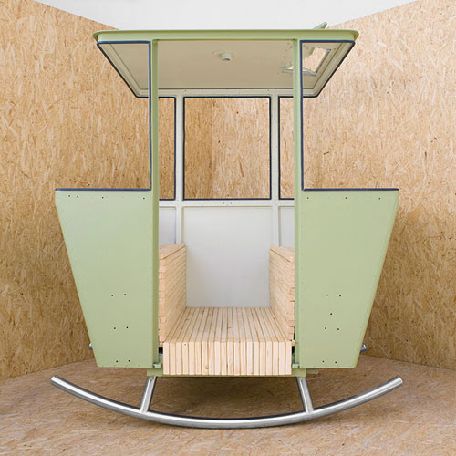 Pilates Chair Mountain Climber: Rock Cable Car Chair By Adrien Rovero For Mountain