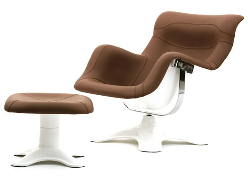 Icon: Karuselli Lounge Chair by Yrjö Kukkapuro for Avarte | Daily Icon