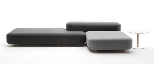 Merveilleux Common Modular Sofa System By Naoto Fukasawa For Viccarbe. Each ...