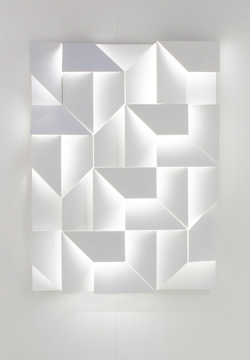Wall shadows by charles kalpakian for omikron design for Objet decoration design contemporain
