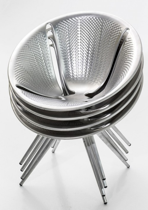 diatom aluminum chair by ross lovegrove for moroso daily icon