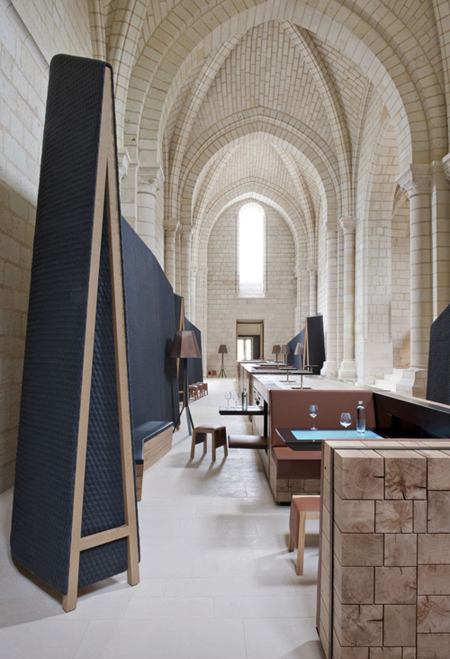 abbaye de fontevraud hotel by jouin manku daily icon. Black Bedroom Furniture Sets. Home Design Ideas