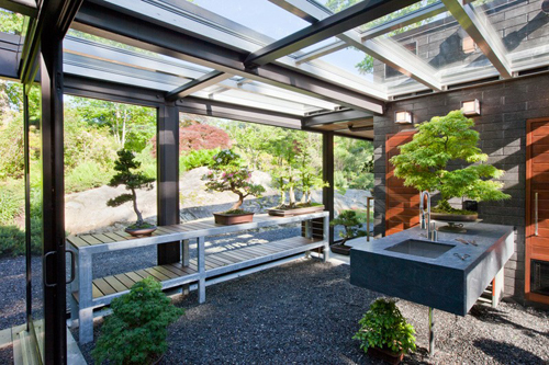 A Glass House In The Garden by Flavin Architects | Daily Icon