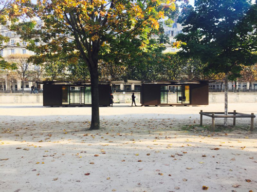 Architecture daily icon part 9 for Kiosque jardin des tuileries