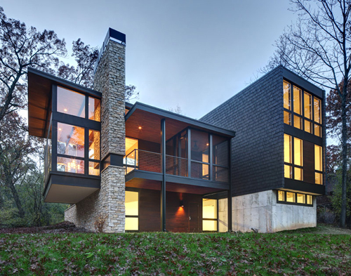 Arboretum House By Bruns Architecture Daily Icon